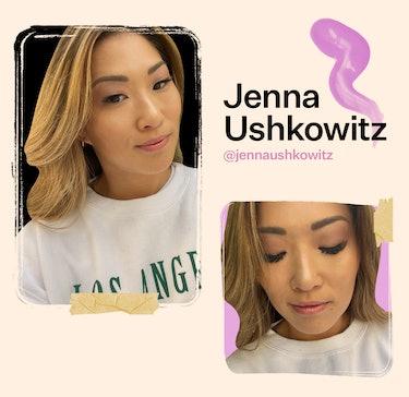 Actress Jenna Ushkowitz shares a favorite monolid makeup look.