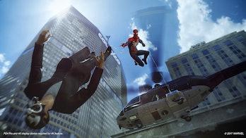 marvels spiderman screenshot save