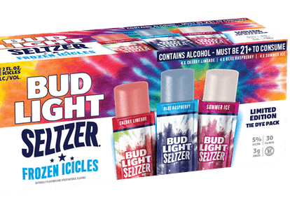 The Bud Light Seltzer Frozen Icicles are a new boozy option for summer.