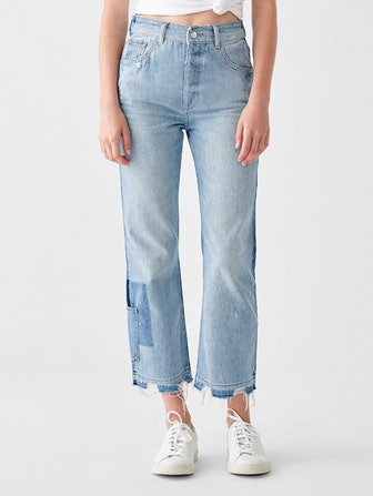 Jerry Straight High-Rise Vintage Jeans