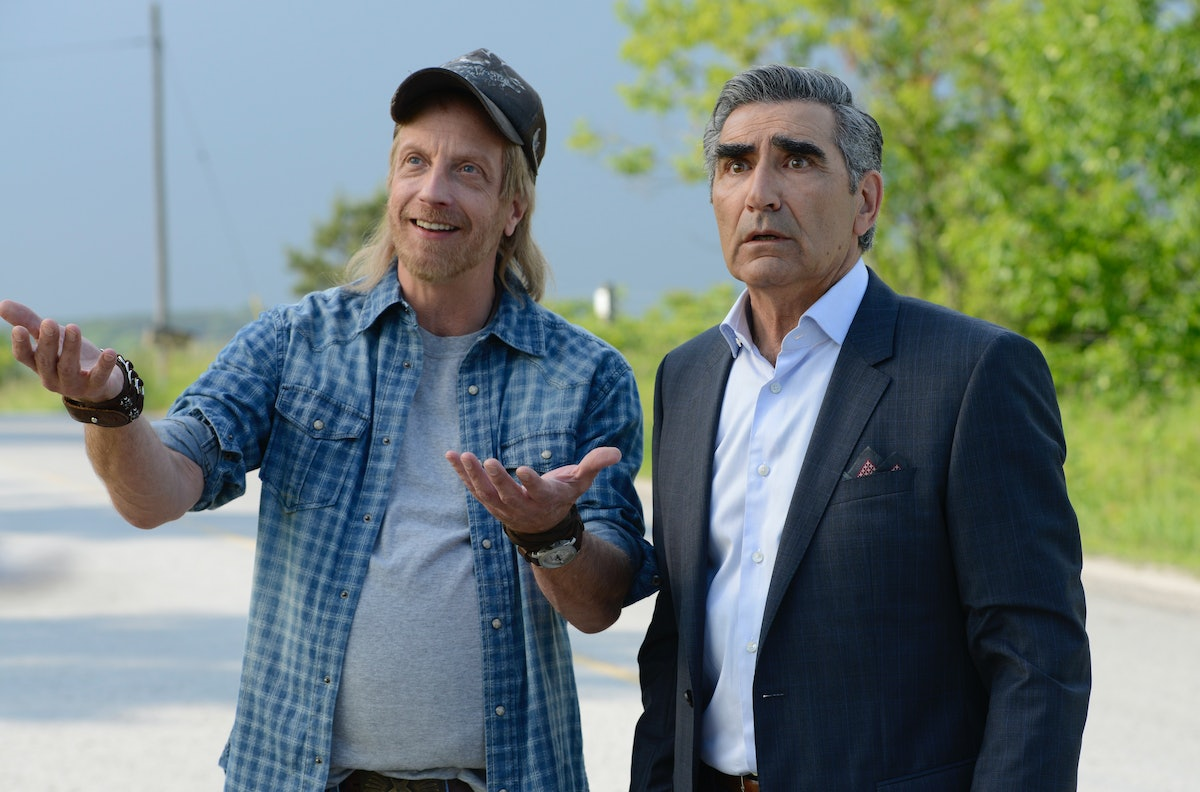 Roland and Johnny Rose on 'Schitt's Creek', quotes for Father's Day captions