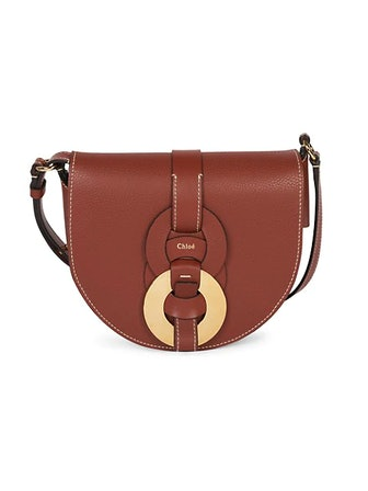 Darryl Leather Saddle Bag