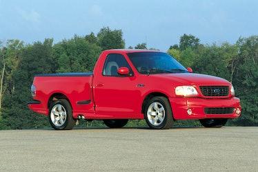 The 2001 Ford F-150 SVT Lightning pickup truck