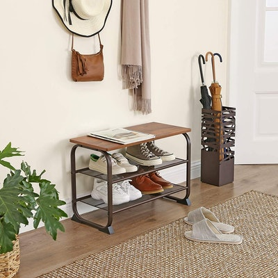 VASAGLE 3-Tier Shoe Storage Shelf