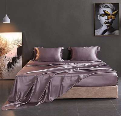 THXSILK 4-Piece Momme Silk Bed Sheets