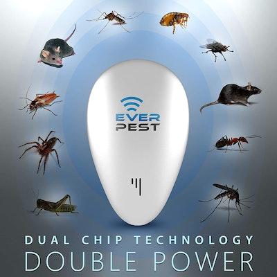 Ever Pest Ultrasonic Pest Control Repeller (2-Pack)