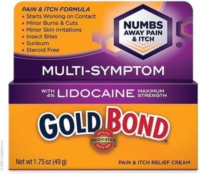 Gold Bond Pain & Itch Relief Cream With Lidocaine, 1.75 Oz.