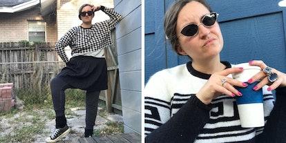 I tried dressing like David Rose from 'Schitt's Creek' for Elite Daily