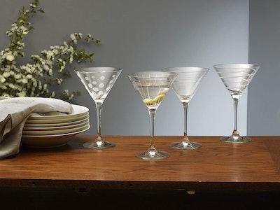 Mikasa Cheers Martini Glasses, 10 oz. (Set Of 4)