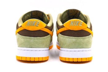 Nike olive and brown Dunk Low