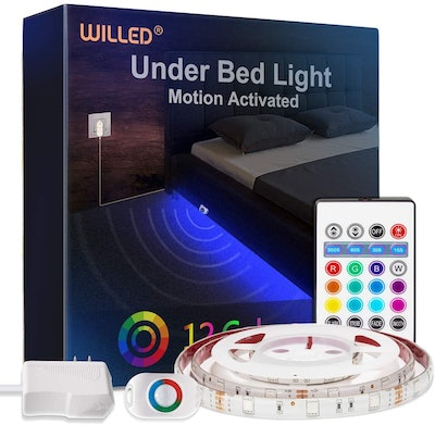 WILLED RGB Color Changing Under Bed Light