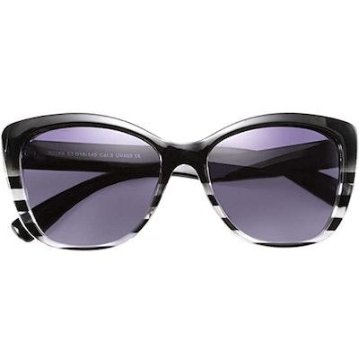 FEISEDY Polarized Jackie O. Sunglasses