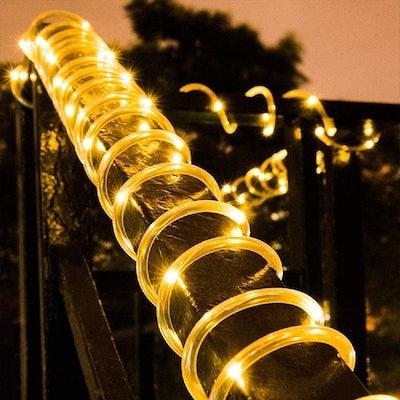 Honche Solar Rope Light (33FT, 100L)