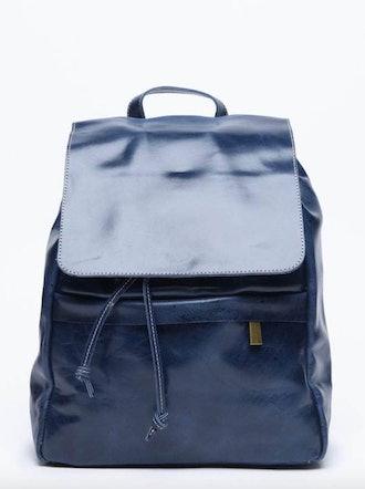Enku Leather Backpack