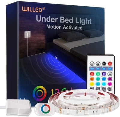 WILLED RGB Color-Changing Under Bed Light