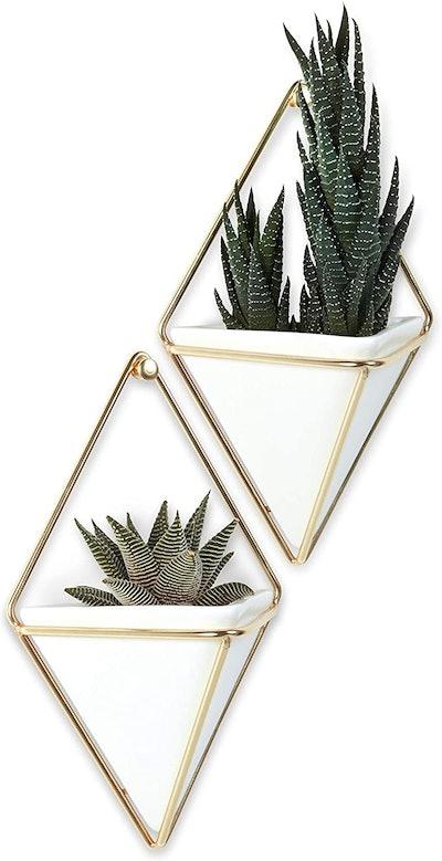 Umbra Geometric Hanging Planter Vase