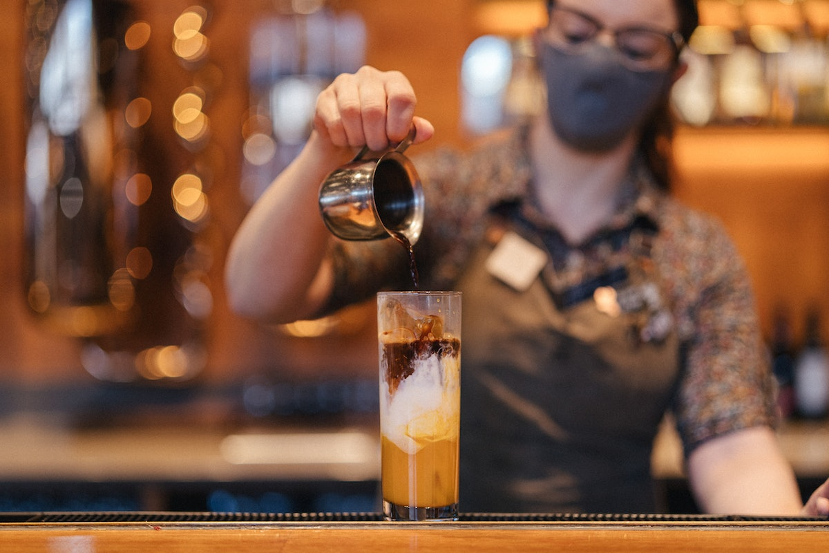 Starbucks Reserve Roasteries' Espresso Dolce drinks are unique combos of fruit and coffee.
