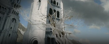 The White Tree of Gondor in Lord of the Rings: Return of the King