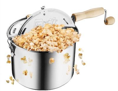 Great Northern Popcorn Original Stainless Steel Popcorn Popper