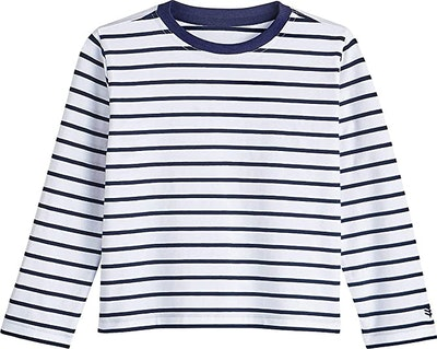 Coolibar UPF 50+ Kid's Coco Plum Everyday Long Sleeve T-Shirt