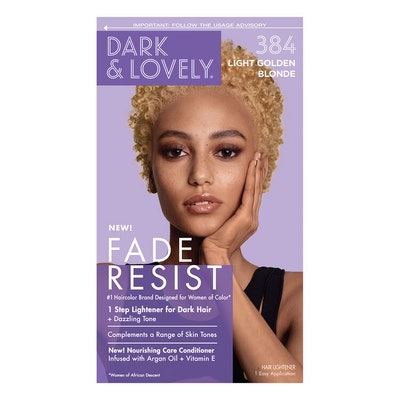 Dark and Lovely Fade Resistant Light Golden Blonde Permanent Hair Color