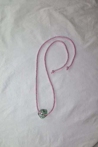 Murano Glass Stone Necklace