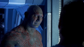 Dave Bautista as Drax the Destroyer in Guardians of the Galaxy Vol. 2