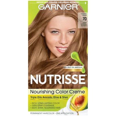 Garnier Nutrisse Nourishing Hair Color Creme, 70 Dark Natural Blonde