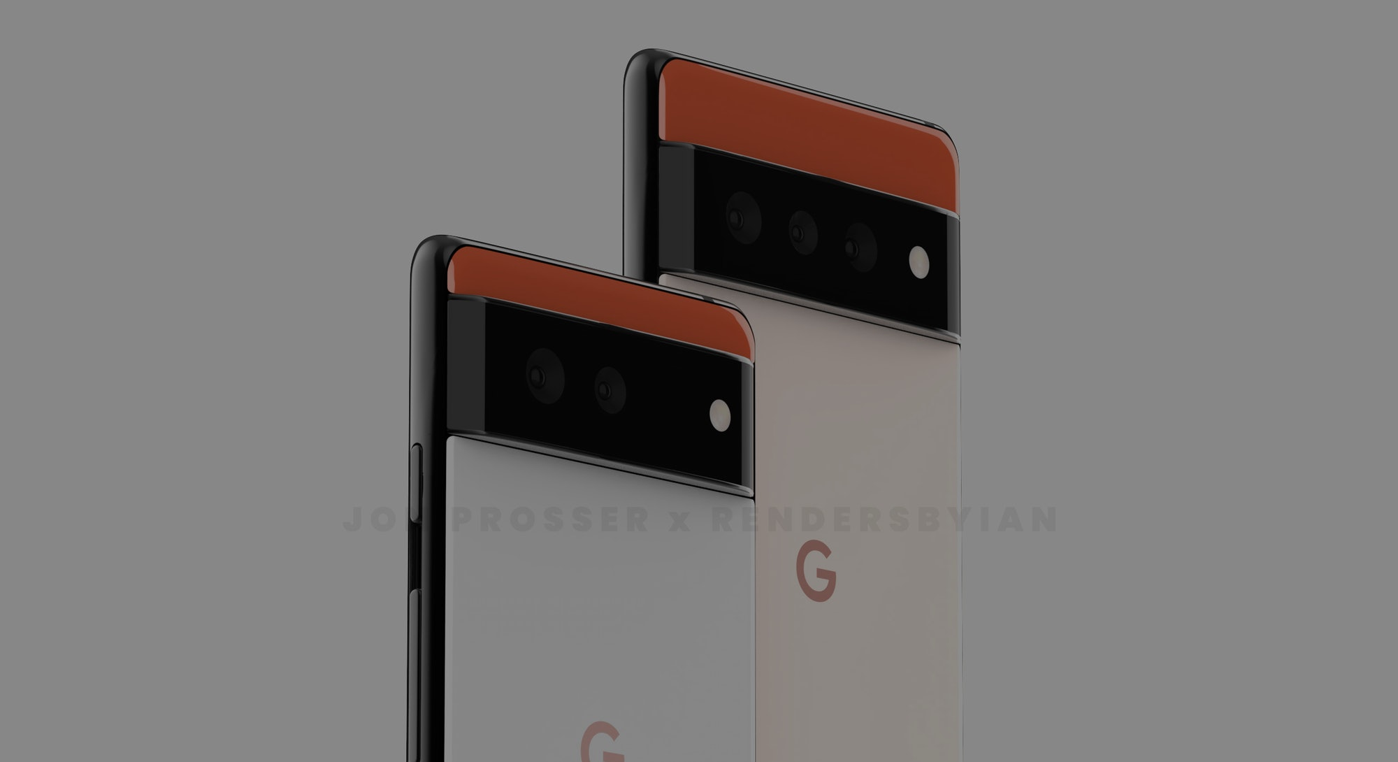 Renders made from leaks of Google's upcoming Pixel 6 phone. Mobile. Android. Smartphones. Pixel 6 Pr...