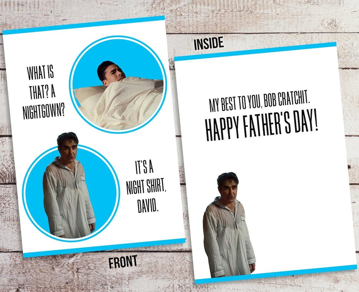 Schitt's Creek Father's Day Card | Johnny & David