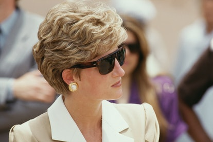 Diana, Princess of Wales (1961 - 1997) visits Luxor in Egypt, 14th May 1992