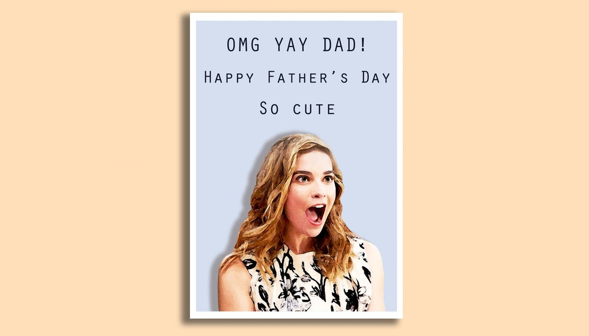 Alexis Rose Father's Day Card