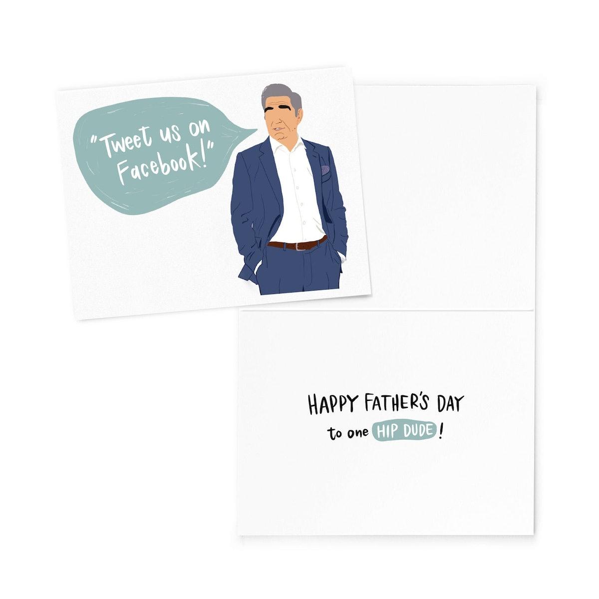 Schitt's Creek Father's Day Card