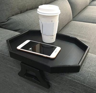 F&T Sofa Arm Clip-On Tray Table