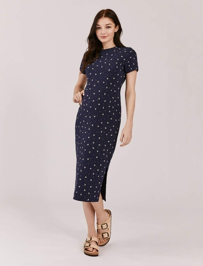 Luxe Midi Maternity Dress