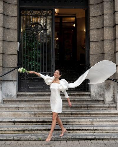 Model wears Sophie et Voilà Dune Dress.