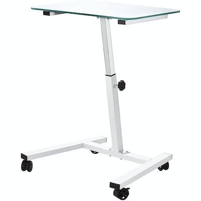 Seville Classics Adjustable Mobile Desk