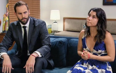Bowles and Gwynne on Married at First Sight Season 9.