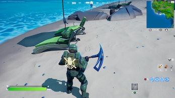 fortnite build sandcastle location 1 gameplay