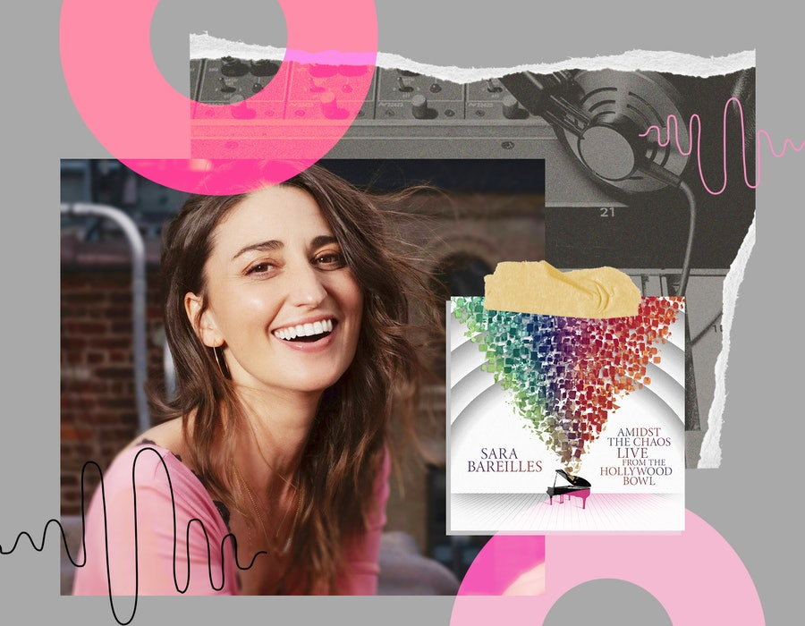 Sara Bareilles stars in Peacock's 'Girls5eva' and also released her live album, Amidst The Chaos.