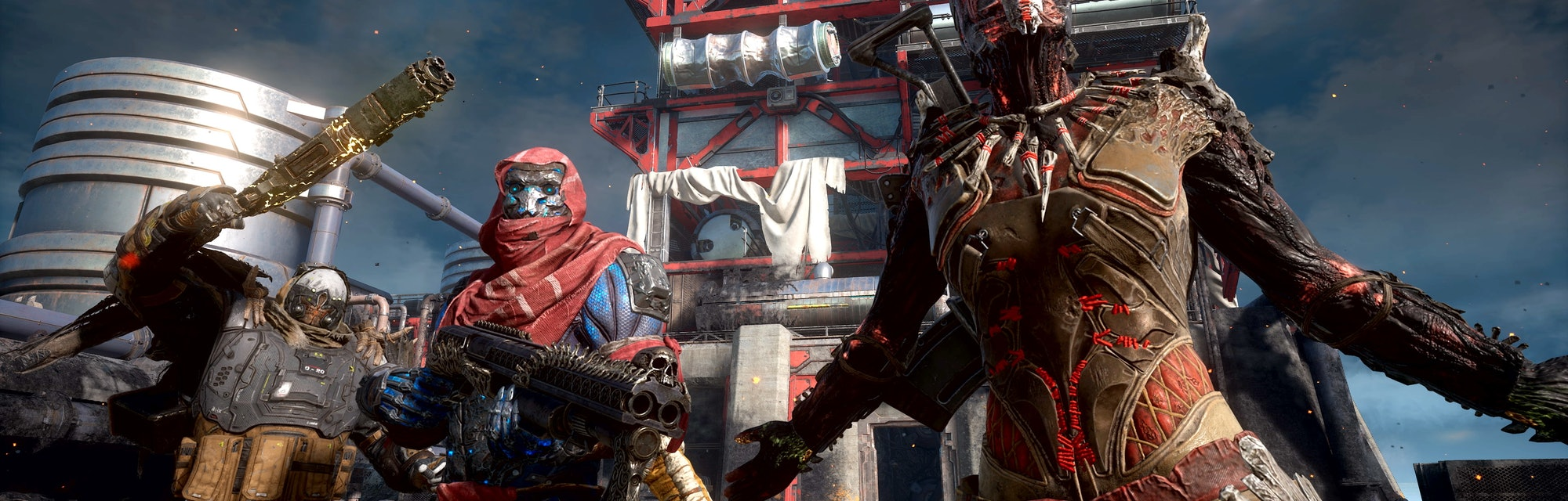 outriders launch screenshot classes