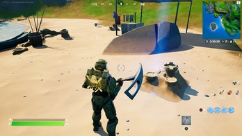 fortnite destroy sandcastle location 2 gameplay