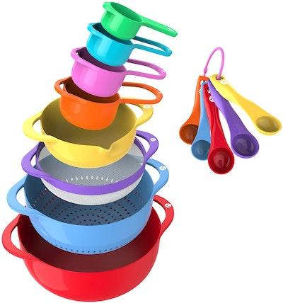 Vremi Mixing Bowl Set (13 Pieces)