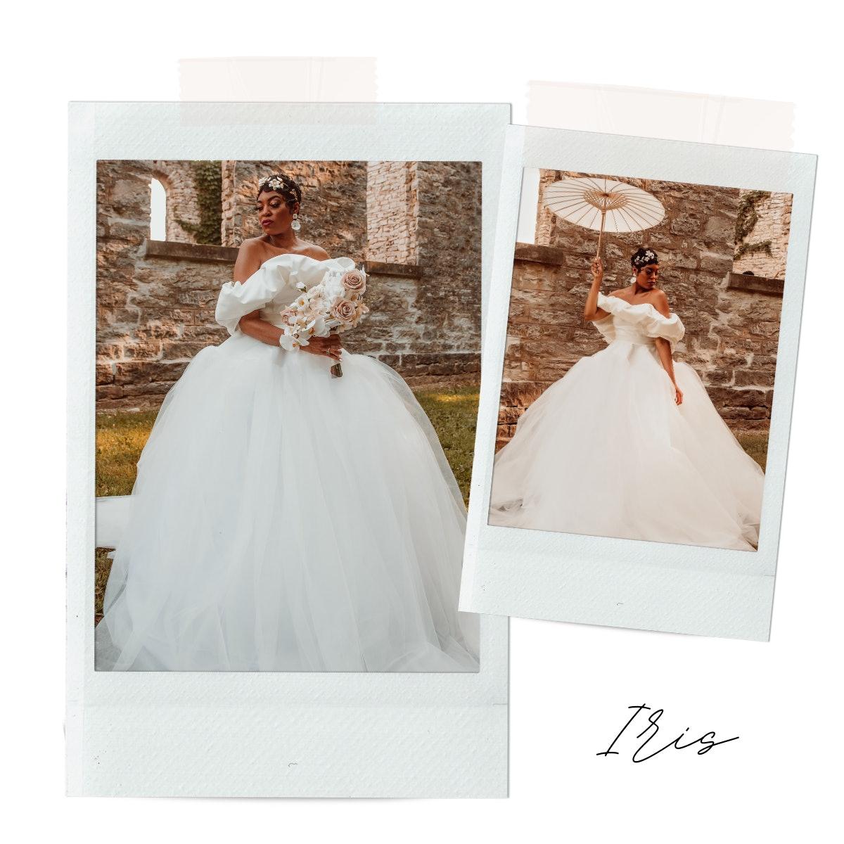 Iris 2-Piece Gown