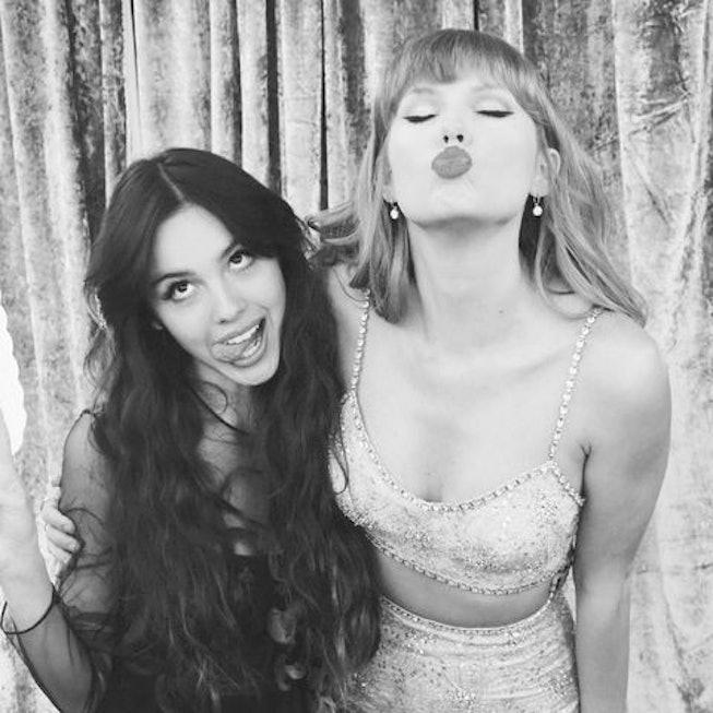 Olivia Rodrigo y Taylor Swift