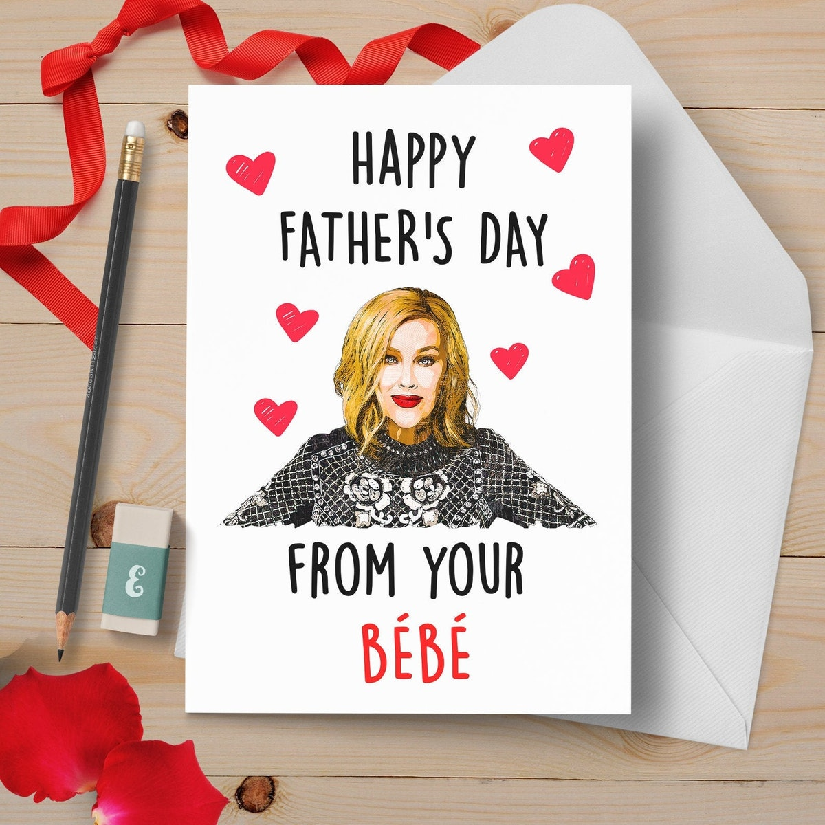 Moira Father's Day Card | Happy Father's Day From Your Bebe