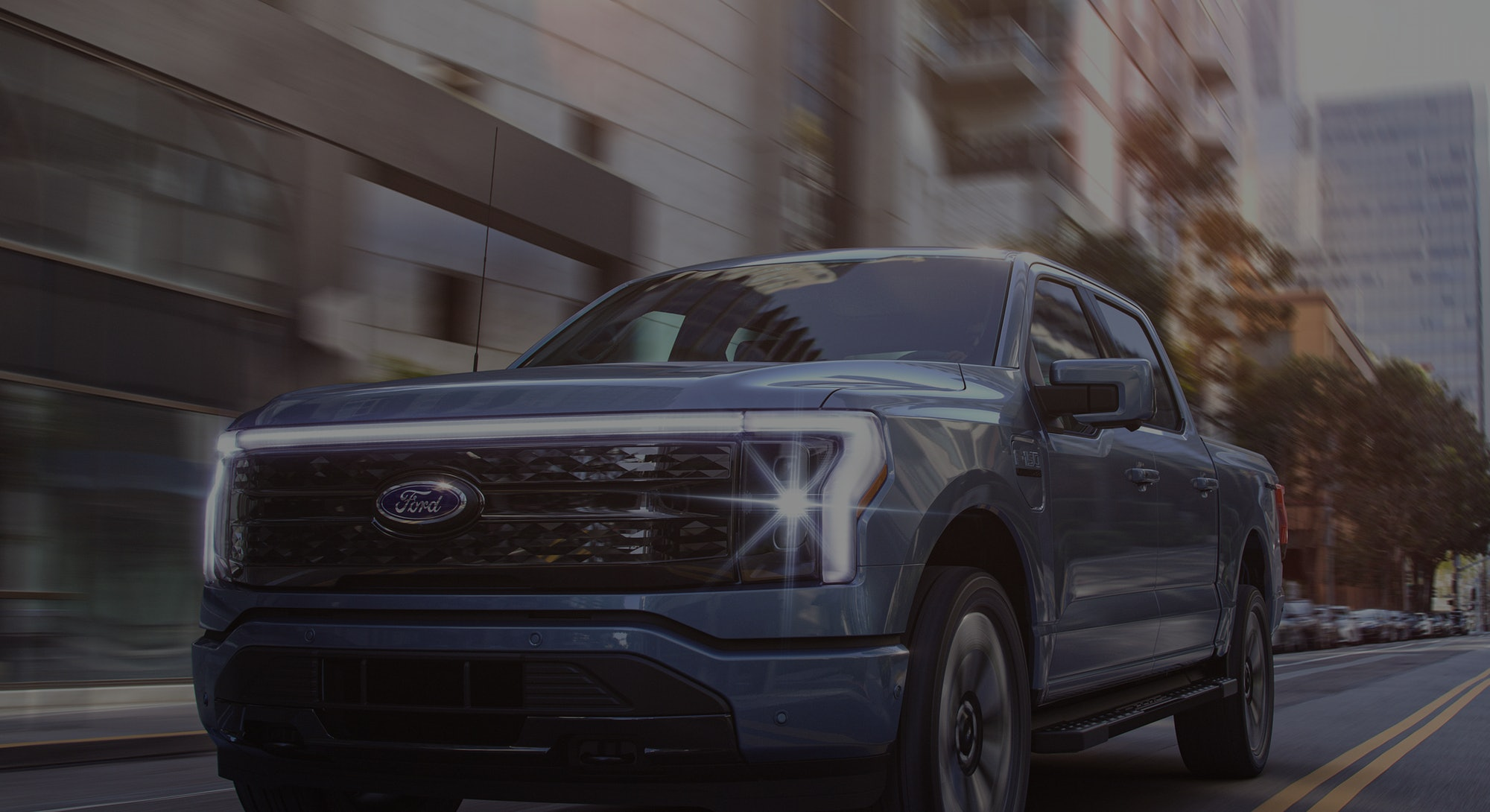 A picture of Ford's F-150 Lightning. Electric vehicles. EV. EVs. Cars. Trucks. Automotive.