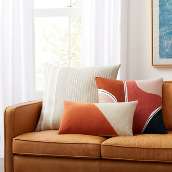 Outlined Shapes Pillow Cover Set