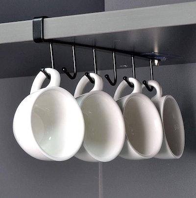 ECROCY Under-Cabinet Mug Racks (3-Pack)