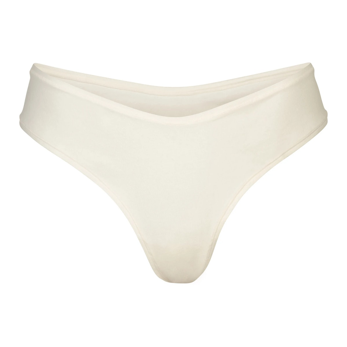 Cotton Jersey Dipped Thong